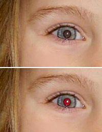 Como remover olhos vermelhos das fotos