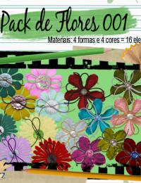 Materiais: Flores 001